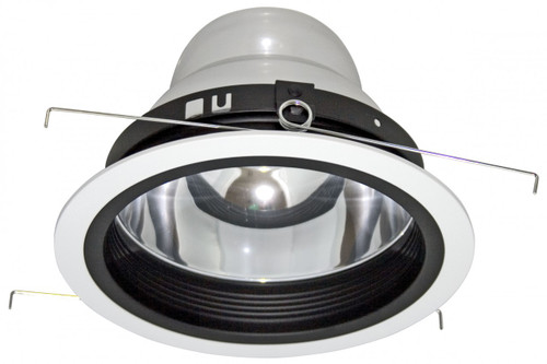 "(RBB) Cone Reflector with Baffle Black for 6"" Recessed Can"
