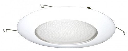 """(TG) Albalite Shower Trim White for 6"""" Recessed Can"""