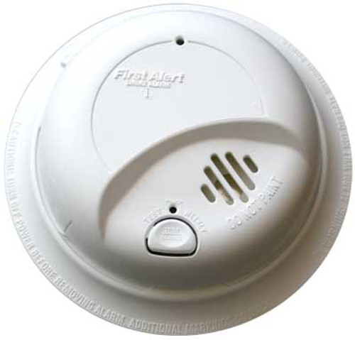 BRK Smoke Alarm Hard Wire with Battery Backup