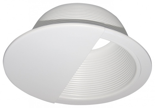"(BW/W) Baffle Wall Wash White for 6"" Recessed Can"