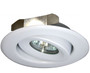 """(GRL/W) Gimbal Ring White for 4"""" Low Voltage Recessed Can"""