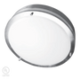 Die-formed cold-rolled steel with satin nickel finish High transmission white acrylic lens