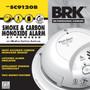 (BRKSC9120B) BRK Smoke & Carbon Monoxide Alarm