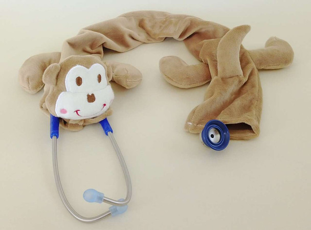 Pedia Pals Monkey Plush Stethoscope Cover