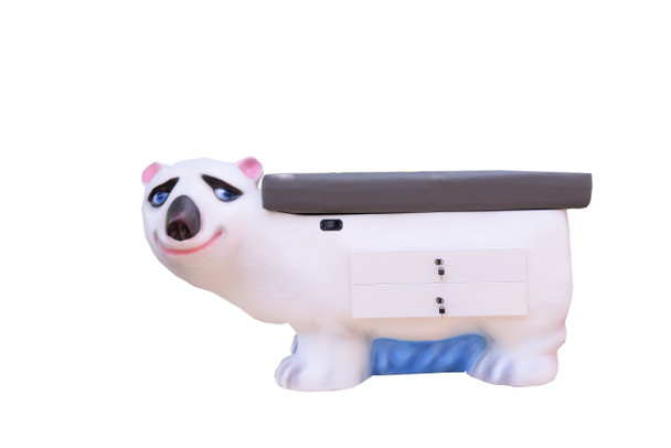 ZooPals Polar Bear Pediatric Exam Table