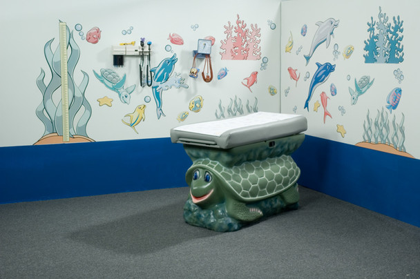 Pedia Pals Turtle Underwater Theme Pediatric Environment Pack