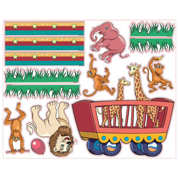 Pedia Pals Pediatric Circus Decal Kit