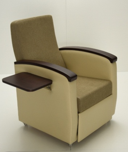 HAPPY ACCOMPANIMENT CHAIR - CAN BE BED with COFFE TABLE