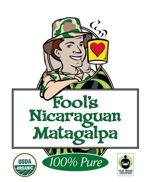 Fool's Organic Fair Trade Nicaraguan Matagalpa