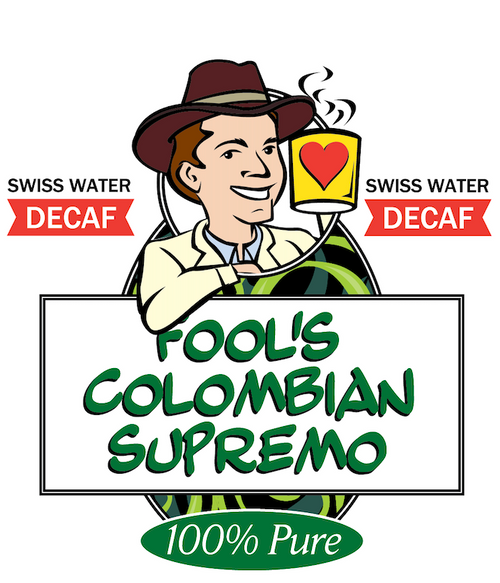 Fool's Decaf Swiss Water Colombian Supremo