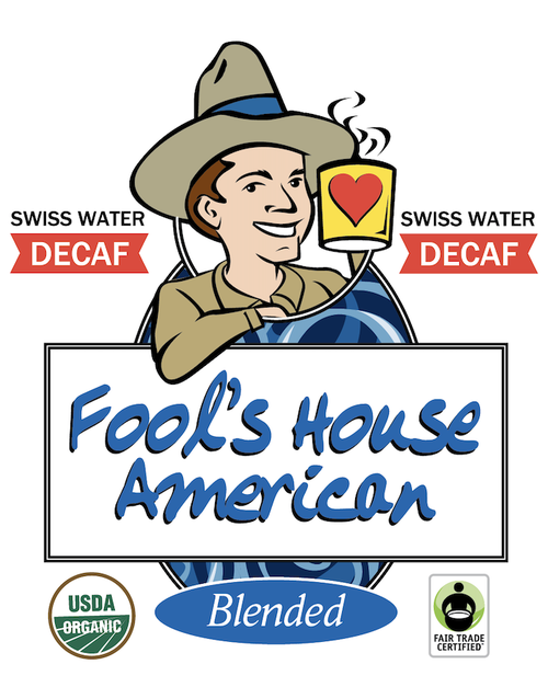 Fool's Decaf Swiss Water Organic Fair Trade House American
