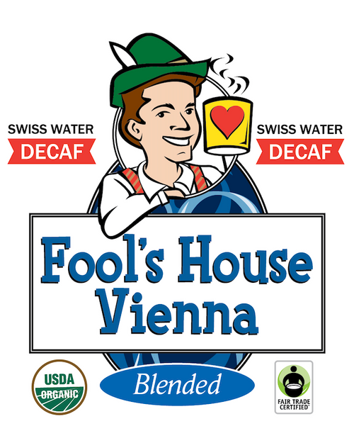 Fool's Decaf Swiss Water Organic Fair Trade House Vienna
