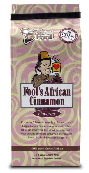Fool's African Cinnamon Pods - 18 Single Serve