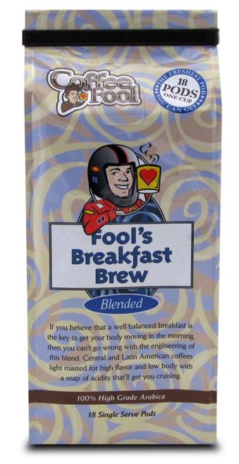 Fool's Breakfast Brew Pods - 18 Single Serve