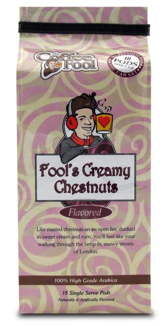 Fool's Creamy Chestnuts Pods - 18 Single Serve