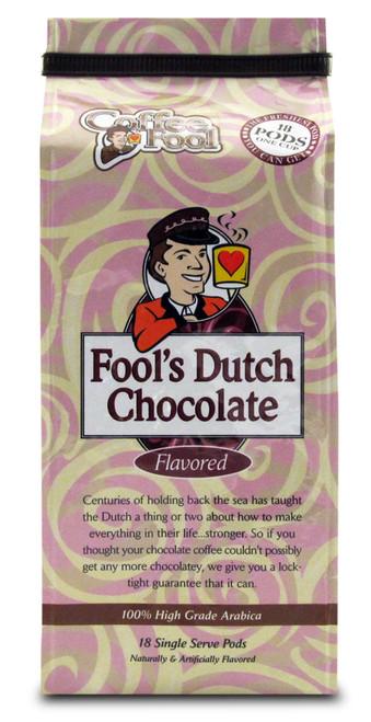 Fool's Dutch Chocolate Pods - 18 Single Serve