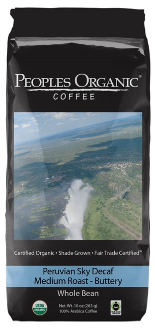 Peoples Organic Peruvian Sky Decaf