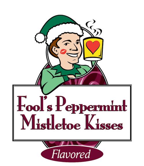 Fool's Peppermint Mistletoe Kisses