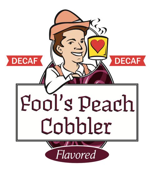 Fool's Decaf Peach Cobbler