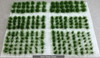 6mm Self-Adhesive Static Grass Tufts - Assorted Sizes Army Pack