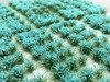 6mm Self-Adhesive Static Grass Tufts - Dark Forest Green Flowering Packs