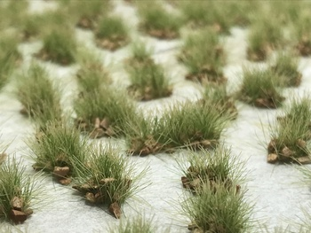 Self-Adhesive Tufts - 6mm Rocky Prairie - Natural Layout