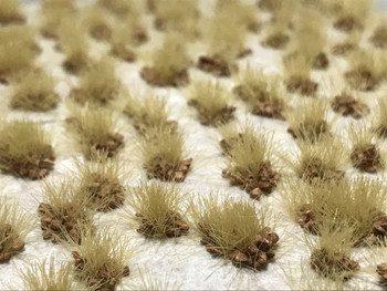 Self-Adhesive Tufts - 6mm Rocky Dry - Natural Layout