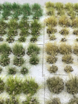 6mm Self-Adhesive Static Grass Tufts - Dark Grey Rocky Sampler