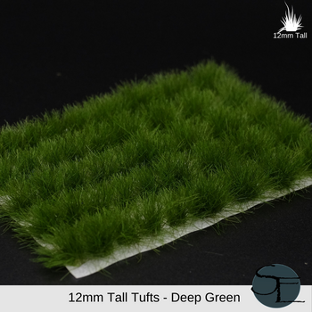 12mm Deep Green