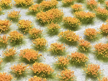 6mm Realistic Self-Adhesive Flowering Tufts - Summer
