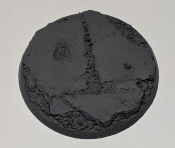 "Scenic Resin Bases - Urban Rubble 60mm ""C"" Base"