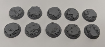 Scenic Resin Bases - Urban Rubble 25mm 10x
