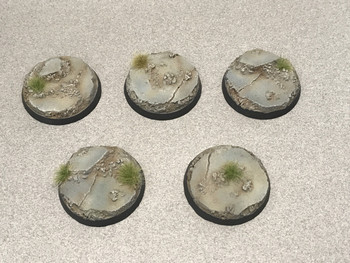 Scenic Resin Bases - Urban Rubble 40mm  5x