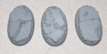 Scenic Resin Bases - Urban Rubble 60 x 35mm 3x