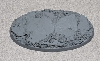 "Scenic Resin Bases - Urban Rubble 90 x 52mm ""B"""