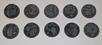 Scenic Resin Bases - Rosarium 32mm