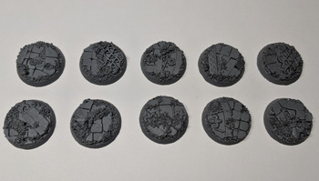 Scenic Resin Bases - Rosarium 28mm