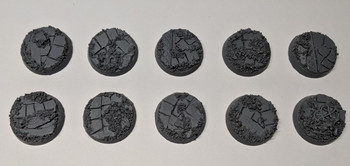 Scenic Resin Bases - Rosarium 25mm