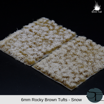 Rocky Brown Snow Frosted
