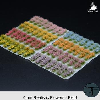 Realistic Flower Sampler