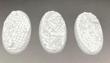 Scenic Resin Bases - Rosarium 90x52mm Set