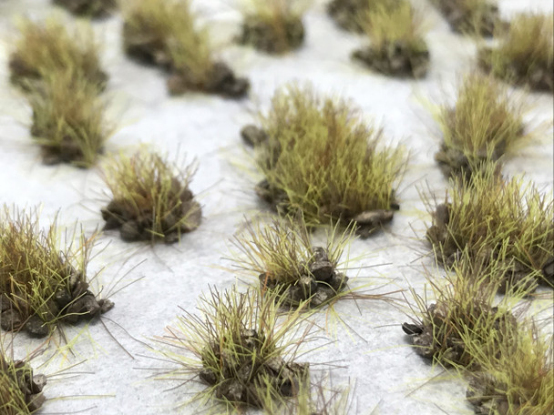 Self-Adhesive Tufts - 6mm Rocky Harvest Grass - Natural Layout