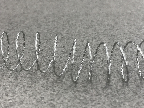Miniature Model  Barbed Wire - 60 Inches (Pre-coiled)