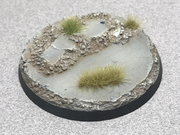 "Scenic Resin Bases - Urban Rubble 60mm Beveled Edge ""B"" Base"