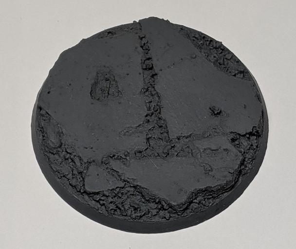 "Scenic Resin Bases - Urban Rubble 60mm ""C"" Base"