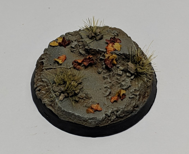 Autumn Mix on 40mm Urban Rubble base