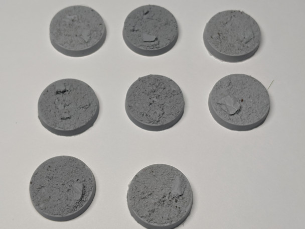27mm Desert Hive Beveled Arc Bases 10x