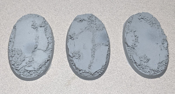 Scenic Resin Bases - Urban Rubble 75 x 42mm 3x