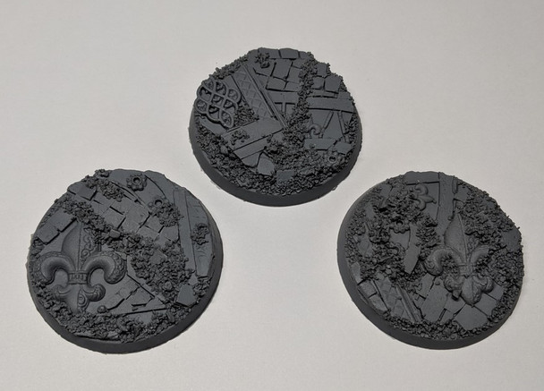 Scenic Resin Bases - Rosarium 50mm 3x