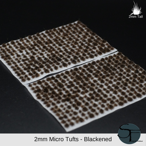 2mm Micro Self-Adhesive Static Grass Tufts